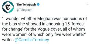 Camilla Tominey Telegraph Meghan Markle