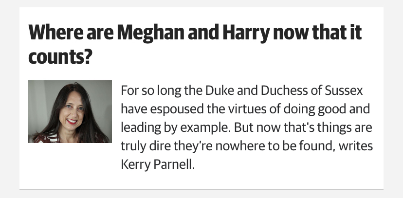 Royal Reporters' Idiotic Opinions 3
