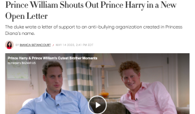 William name drops Harry