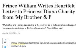 William using Harry for PR
