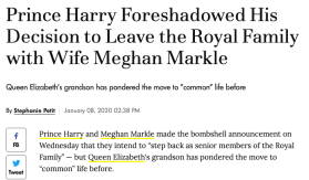 Harry always wanted to leave Royal Family