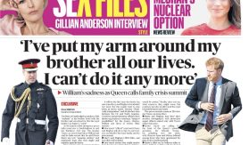 William attacks Harry via Sunday Times