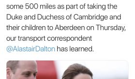 Flybe flew empty jets for William and Kate