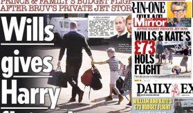 William throws Harry under the bus