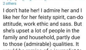 Emily Andrews says royal family dislikes Meghan's good qualities