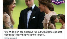 Kate Middleton Rose Hanbury Prince William