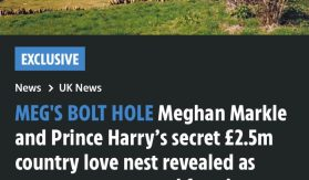 Emily Andrews reveals private residence of Sussexes