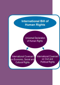 Human Rights Diagram