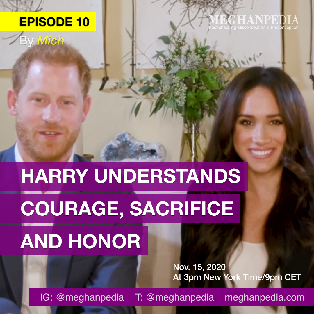 Prince Harry Understands Courage Sacrifice and Honor