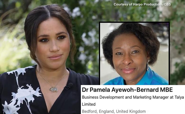 Open Letter to Dr Pamela Ayewoh-Bernard MBE