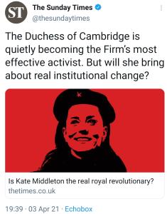 Kate Middleton Che Guevara PR