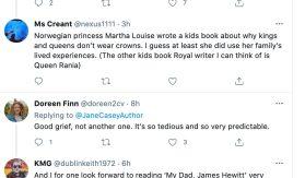 Jane Casey Author attacks Meghan Markle 02