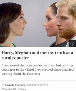 Camilla Tominey obsession with Meghan Markle